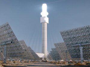 Crescent Dunes Energia solare