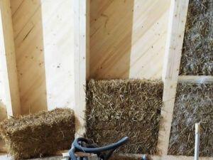Costruzioni in paglia non portante